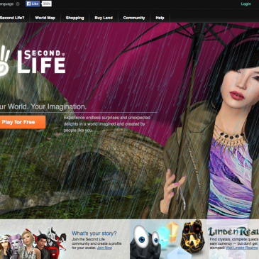 Second Life, or only life?