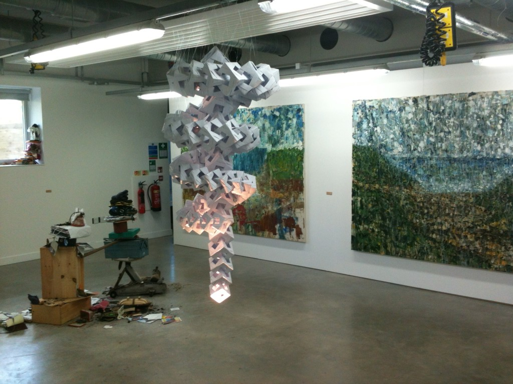 Degree shows at the University of Lincoln: Fine Art Degree Show 2014