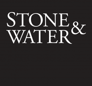 Stone & Water logo: black