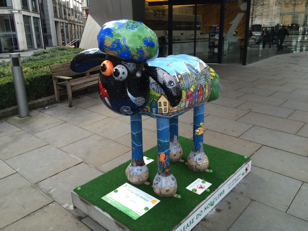 Shaun The Sheep: sculptures raising money