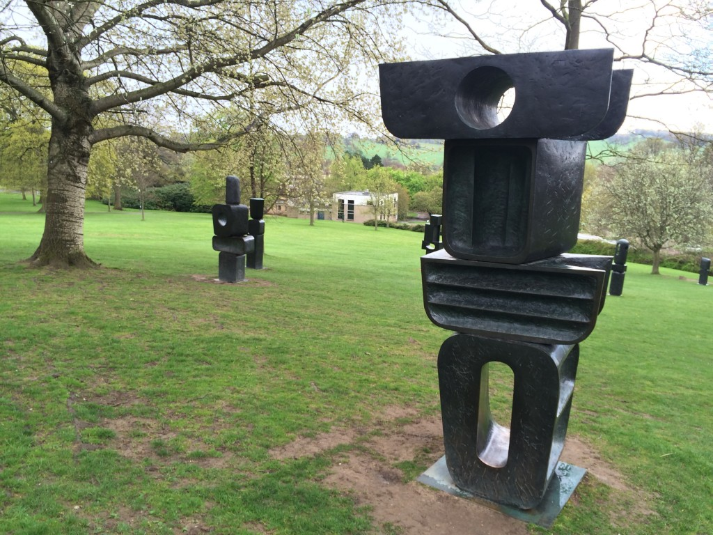 Barbara Hepworth. The Family of Man, 1970